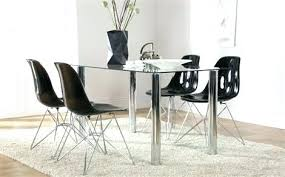 round glass table and chairs ikea round glass dining table set lunar glass and chrome dining