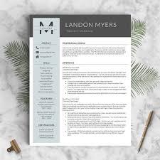Gallery Of Best 20 Modern Resume Template Ideas On Pinterest