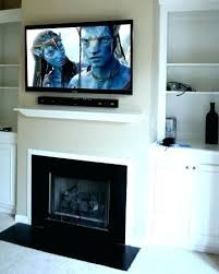 hanging tv over fireplace too high can you hang a gas installation tn i my