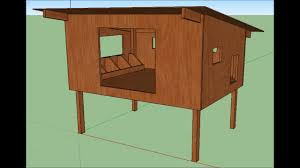 ment construire un poulailler avec plan dimensionné