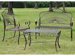 green wrought iron patio furniture. fascinating wrought iron patio set for placed modern outdoor ideas decoration trends cast green furniture