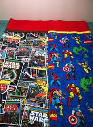 Superman pillowcase. Tutorial from Missouri Star Quilt Co ... & Stars Wars and Marvel Characters Adamdwight.com