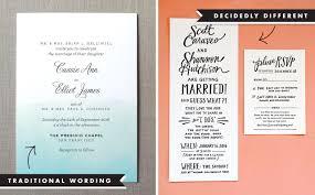 wedding invitation wording exles