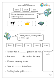 Phonics helps students learn to identify relationships between words and sounds. Remarkable Key Stage Printable Worksheets Ow Words Letters And Sounds By Urbrainy Com Jaimie Bleck