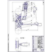 Дипломная работа на тему Передняя подвеска с дегрессивной  Дипломная работа на тему Передняя подвеска с дегрессивной характеристикой автомобиля М1