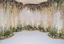 wedding picture backdrops. Interesting Wedding Laeacco Wedding Backdrops 10x65ft Flower And Decoration  Photography Background Fresh Flowers Spring Indoor With Picture Amazoncom