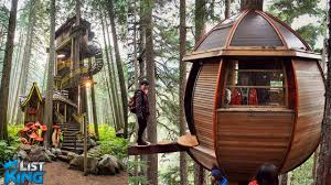 treehouse masters tree houses. 6 INSANE Treehouses You Wont Believe Exist | ListKing Treehouse Masters Tree Houses O