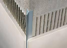 tile outside corners tile edge trim in aluminium concealed outside corner mosaictec rjf columns corner detail and bathroom tiling