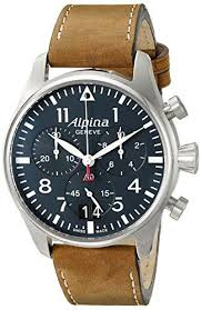 17 best ideas about men luxury watches nice watches alpina men s al 372n4s6 startimer pilot chronograph big date analog display swiss quartz brown watch mens watch brandsbest mens watchesluxury