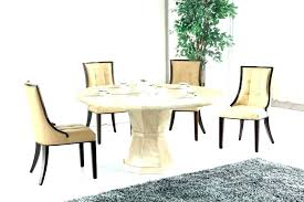 round glass dining table wood base room small decor ta