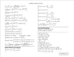 adorable my electromagnetics formula sheet electricity physics myacb full size
