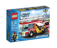Sale On Legos Amazoncom Lego City Fire Truck 60002 Toys Games