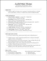 Barista Resume Classy Customer Service Job Description For Resume Elegant 48 Elegant
