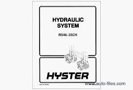 hyster forklift pdf repair manuals wiring diagram repair manuals hyster forklift pdf 6