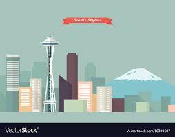 Seattle Cityscape Seattle Skyline