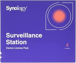 Synology IP Camera License Pack for 4 (CLP4 ... - Amazon.com
