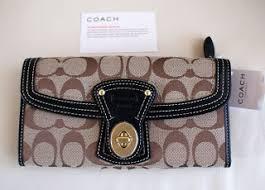 Coach Legacy Signature Slim Envelope Wallet  41955