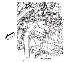 2008 chevy an engine diagnostic code hhr coolant temp reg
