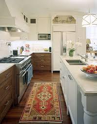 White wood kitchen Minimal 111507 001 Emily A Clark Kitchen Cabinets White Wood Mix Emily A Clark