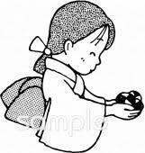 わらべうたイラストなら小学校幼稚園向け保育園向け自治会pta