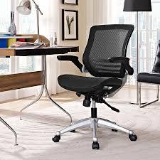 Ede Mesh Black Modern Office Chair   Eurway Furniture