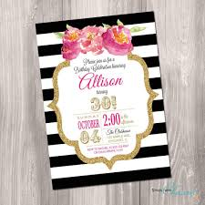40th birthday invitation ideas fresh 30th 40th 50th 60th birthday invitation sweet six black and of