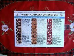 25pc Norse Red Carnelian Gemstones Powerful Viking Rune