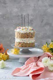 Why choose this cake for your baby's special day? Healthy Birthday Cake Love In My Oven