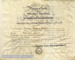 file ph d diploma arthur william wright yale university jpg  file ph d diploma arthur william wright yale university 1861 jpg