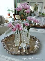 Decorating With Silver Trays Thrifty Decorating Ideas Using a Vintage Silver Tray What Meegan Makes 18