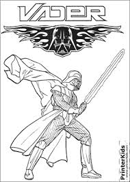 Small Picture Star Wars Darth Vader Coloring page Coloring Pages