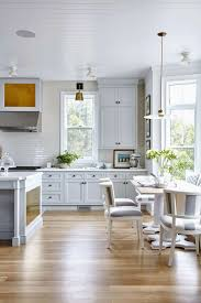 Concrete Kitchen Floor Ideas Small Table Cabinet Paint Colors Wall
