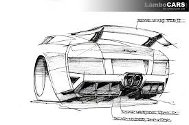 lb r 660 by lb performance lb performance concept drawing 3 hr the really impressive rear design on the lb performance lamborghini murciélago