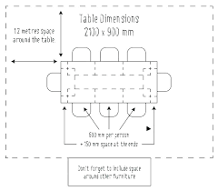 average dining table size for 8 rectangle sizes 6 rectangular of a round room tables measurements