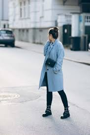outfit baby blue coat