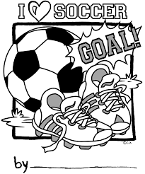 Small Picture Printable Soccer Coloring Page Sports Coloring Pages With Free