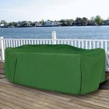 rectangular patio furniture covers. Durable Rectangular Outdoor Patio Set Vinyl Furniture Cover Green Covers