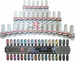 Details About Gelixir Magic Night Cat Eye Gel 30 Color Salon Set Color Chart Magnet
