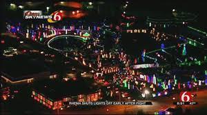 Christmas Lights In Tulsa Ok 2018 Rhema Shuts Light Display Off Early After Fight News On 6