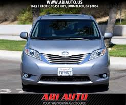 Used 2015 Toyota Sienna XLE in Long Beach
