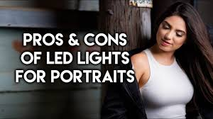 Continuous Lighting For Portraits Pros And Cons Of Using Led Lights For Portrait Photography
