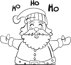Fun santa coloring pages for your little one. Santa Coloring Page Stock Illustrations 1 476 Santa Coloring Page Stock Illustrations Vectors Clipart Dreamstime