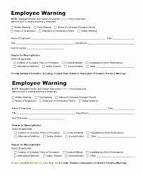 Verbal Warning Sample Employee Written Warning Template Free Romance Guru Template
