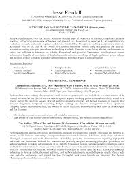 Examples Of Federal Government Resumes