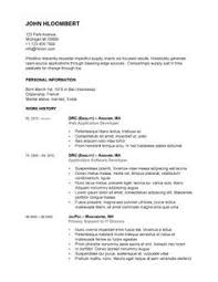 461 Best Resume Templates And Samples Images On Pinterest | Free ...