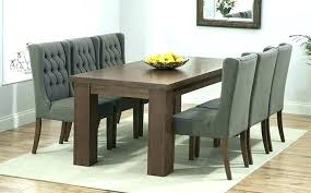 solid dark wood dining table chairs sets great furniture trading company with black wooden and round glass set