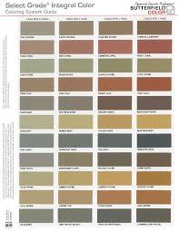 Solomon Concrete Color Chart Select Grade Integral Concrete Colorant