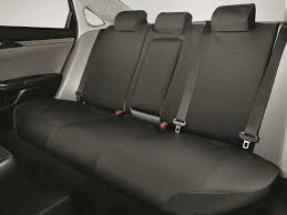 genuine oem honda civic hatchback 17 18 2nd row seat cover ex exl touring covers