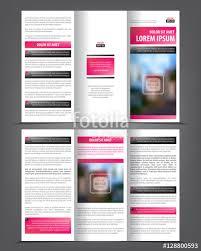 Vector Tri Fold Brochure Template Design Concept Business
