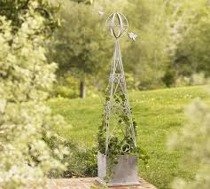 charming garden obelisks and ideas for